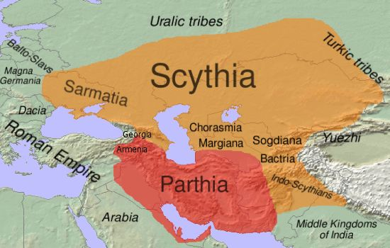 Image result for parthia and israel