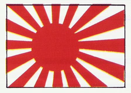 Japanese Flag during World War 2